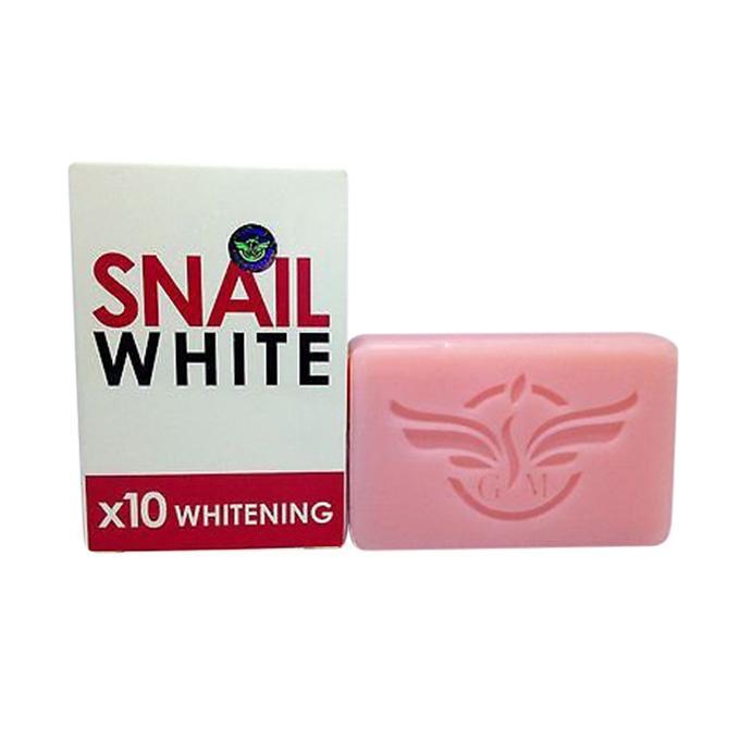 Snail White Bar Soap For Skin Whitening