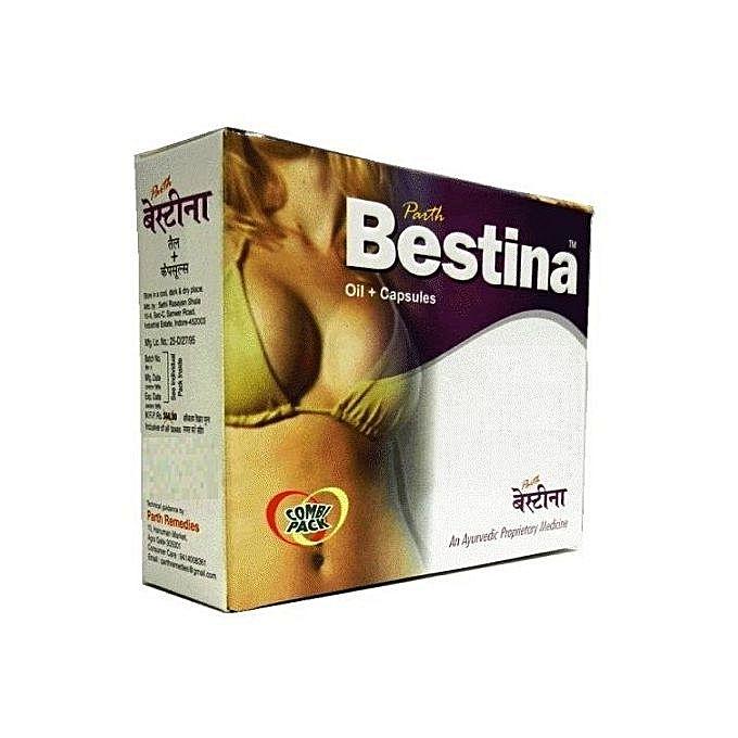 Bestina Breast Enlargement Oil and Capsules