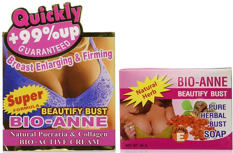 Bio-Anne Breast Cream With Soap