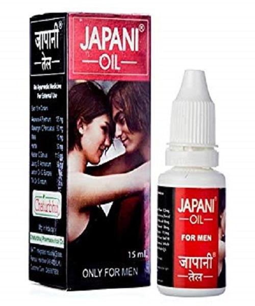 Japani Oil Penis Massage Oil for Men - 15ml