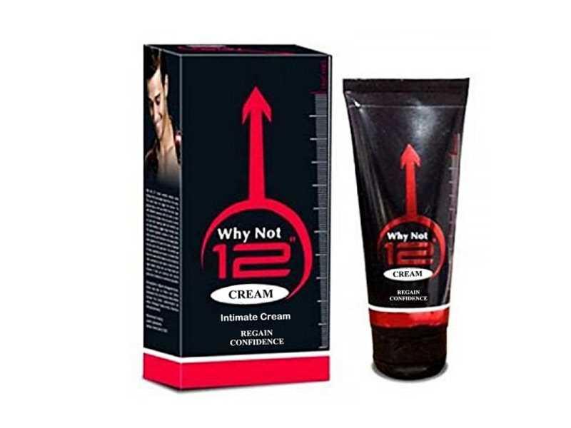 Why Not 12 Cream For Men